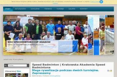 Krakowska Akademia Speed Badmintona - Nauka Jazdy Kraków