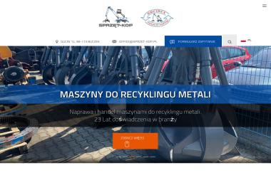 P u H Sprzęt Kop Rajmund Krakowski - Maszyny budowlane Gucin