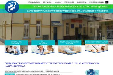Samodzielny Publiczny Szpital Wojewódzki im. Jana Bożego w Lublinie - Psycholog Lublin