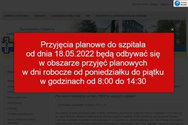 Samodzielny Publiczny Zakład Opieki Zdrowotnej - Poradnia rehabilitacyjna - Psycholog Augustów