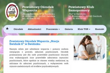 Powiatowy Ośrodek Wsparcia dla Osób z Zaburzeniami Psychicznymi Stacja Świdnik II - Pomoc domowa Świdnik