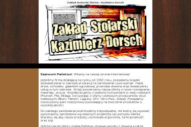 Zakład Stolarski Kazimierz Dorsch - Schody drewniane Złotów