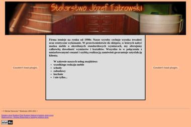 Stolarstwo Józef Tatrowski - Schody Metalowe Wewnętrzne Biedrusko