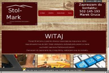 Stol-Mark Marek Gruca. Schody drewniane, balustrady drewniane, stolarz - Schody metalowe Bia艂a Ni偶na