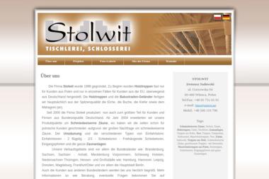 Stolwit Us艂ugi Stolarsko-Budowlane. Schody drewniane, schody zabiegowe - Schody drewniane Bia艂cz