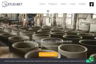 Zakład Betoniarsko-Studniarski STUD-BET. Kręgi, szamba, wpusty, kostka - Materiały Budowlane Ksawerów