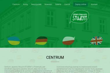 Centrym Języków Obcych Student - Szkoła językowa Przemyśl