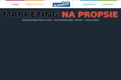 Studio Kreator Daniel Meger - Kampanie Marketingowe Słupsk
