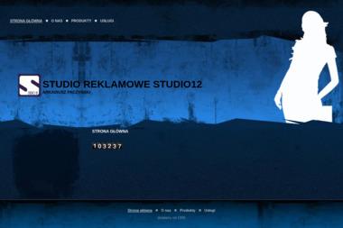 Studio Reklamowe Studio 12 Arkadiusz Paczyński - Firma Reklamowa Głogów