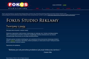 Przedsiębiorstwo Wielobranżowe Fokus Rafał Szadach - Reklama Człuchów