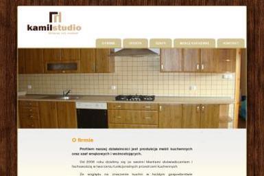 Studio Mebli Kuchennych Kamil. Meble kuchenne, szafy - Stolarstwo Klimontów