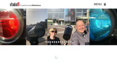 Studio M - Identyfikacja wizualna Łódź