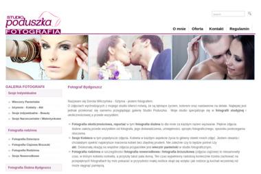 Studio Poduszka, fotograf, usługi fotograficzne - Sesje zdjęciowe Bydgoszcz