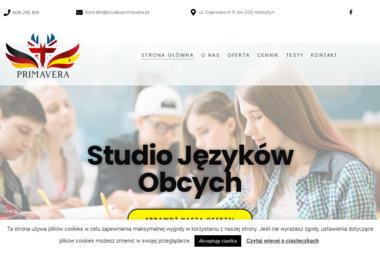 Studio Językowe Primavera - Szkoła językowa Wolsztyn