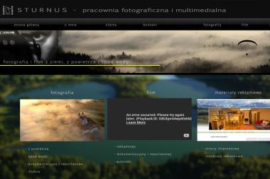 Sturnus Pracownia Fotograficzna i Multimedialna. Zdjęcia z powietrza, fotografia lotnicza - Agencja interaktywna Suwałki