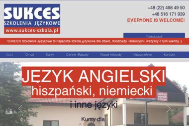 Sukces-Szkolenia Językowe - Lekcje Angielskiego Ząbki