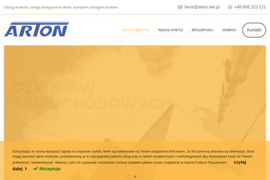 ARTON Usługi dźwigowe - Wynajem Dźwigów Kraków