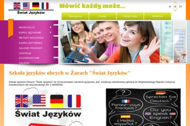 Szkoła Języków Obcych Świat Języków S.C. - Nauczyciele angielskiego Żary
