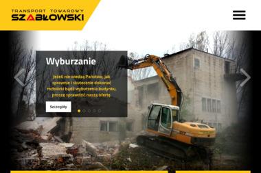 Transport Towarowy Szabłowski S.C. - Melioracja Ostrów Mazowiecka