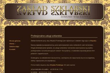 Zakład Szklarski Edmund Więckiewicz - Szklarz Słupsk