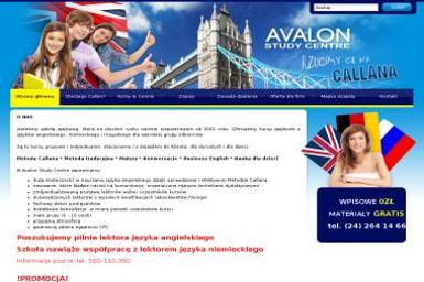 Avalon Study Centre Maria Wróblewska - Tłumaczenie Angielsko Polskie Płock
