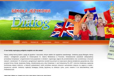 Dialog Jacek Kubicki. Szkoła językowa, tłumaczenia, język angielski - Kurs włoskiego Pobiedziska