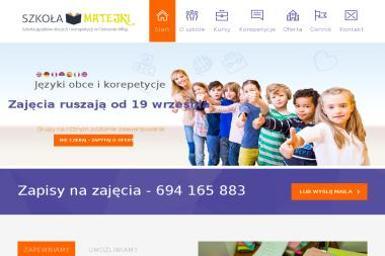 Szkoła Matejki - Szkoła Językowa Ostrów Wielkopolski