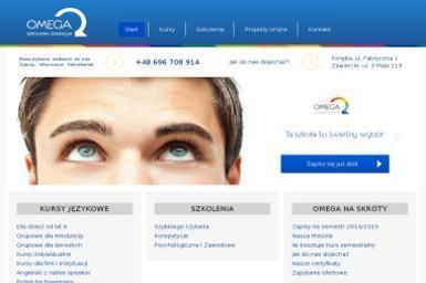 Omega. Szkoła językowa, angielski - Kurs niemieckiego Poręba
