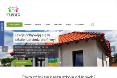 Szkoła Języków Obcych Parola - Kurs włoskiego Solec Kujawski