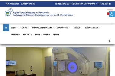 Szpital Specjalistyczny w Brzozowie Podkarpacki Ośrodek Onkologiczny - Psycholog Brzozów