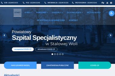 Samodzielny Publiczny Zespół Zakładów Opieki Zdrowotnej Powiatowy Szpital Specjalistyczny w Stalowej - Psycholog Stalowa Wola