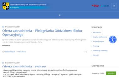 Samodzielny Publiczny Zakład Opieki Zdrowotnej - Szpital Powiatowy im. dr H. Jordana - Oddział - Psycholog Sulęcin