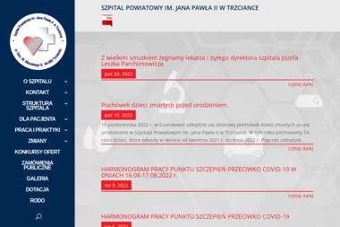 Szpital Powiatowy im. Jana Pawła II w Trzciance - Psycholog Trzcianka