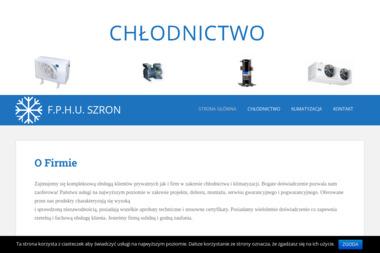 FPHU Szron - Klimatyzacja Tarnów - Urządzenia, materiały instalacyjne Tarnów