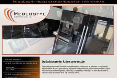 Meblostyl Szufrajda D. - Nowoczesne Kuchnie Człuchów