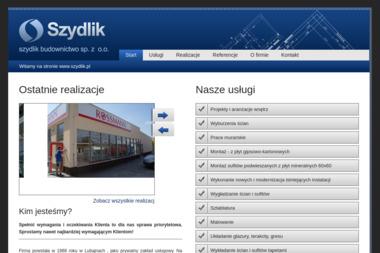 Szydlik Budownictwo Sp. z o.o. - Roboty ziemne Ostróda