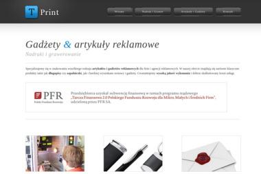 T-Print Producent gadżetów reklamowych - Kosze prezentowe Zielona Góra