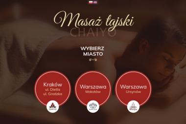 Salon Masażu Tajskiego - Masaż Wrocław