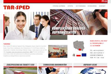 Biuro Spedycji Tar-Sped Jan Oleksy - Firma transportowa Tarnów