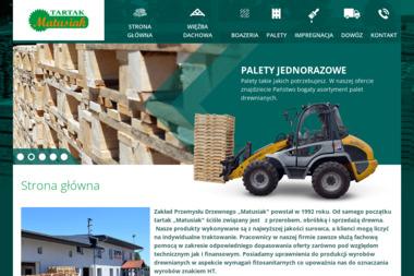 Zakład przemysłu drzewnego Matusiak - Skład budowlany Ługi Ujskie