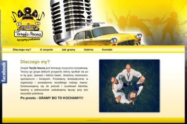 Taryfa Nocna. Zespó艂 muzyczny - Zespó艂 muzyczny Grodzisk Wielkopolski