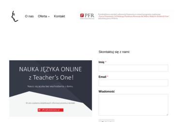 """Tso Sp. z o.o. Teacher""""s One! - Kurs francuskiego Warszawa"""