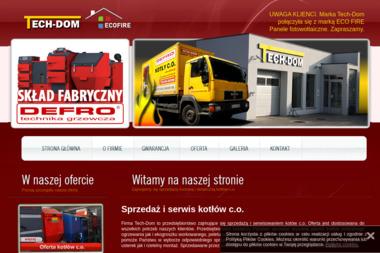 Tech-Dom - Piece Gazowe Łask