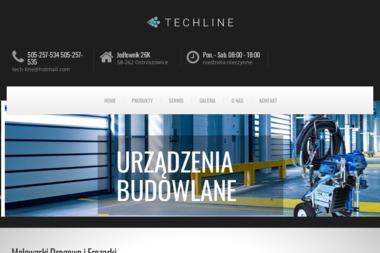 Tech Line S.C. Bartłomiej Słodziak Jakub Smolak - Maszyny budowlane Bielawa