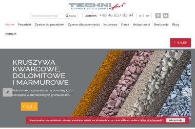 TECHNIArt Sp. z o.o. Posadzki przemysłowe, Kruszywa Kwarcowe - Wylewka Nowa Bukówka