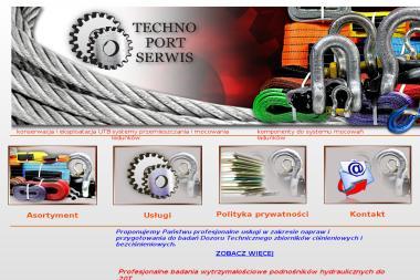 Techno Port System Sp. z o.o. - Maszyny budowlane Mechelinki