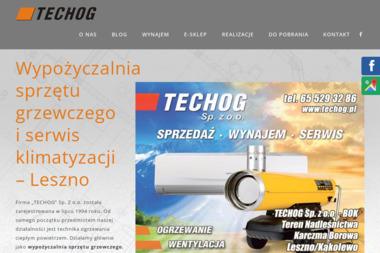 Techog Sp. z o.o. Leszno - Klimatyzacja Do Domu Leszno