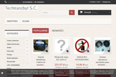 Techtranzbyt S.C. - Wózki widłowe Częstochowa