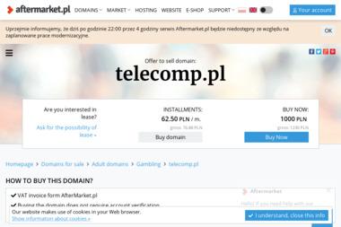 Przedsiębiorstwo Telekomunikacyjne Telecomp Sp. z o.o. - Serwis RTV Warszawa