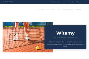Towarzystwo Tenisowe Score Elbląg - Joga Elbląg